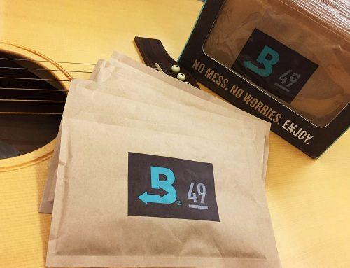 Boveda 49% 樂器專用濕度調節保濕包上市!